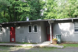 Tucked in the woods, Dunaway Lodge is perfect for  youth groups and smaller retreats.  It sleeps up to 18 in bunk style beds and has a full kitchen and great room.